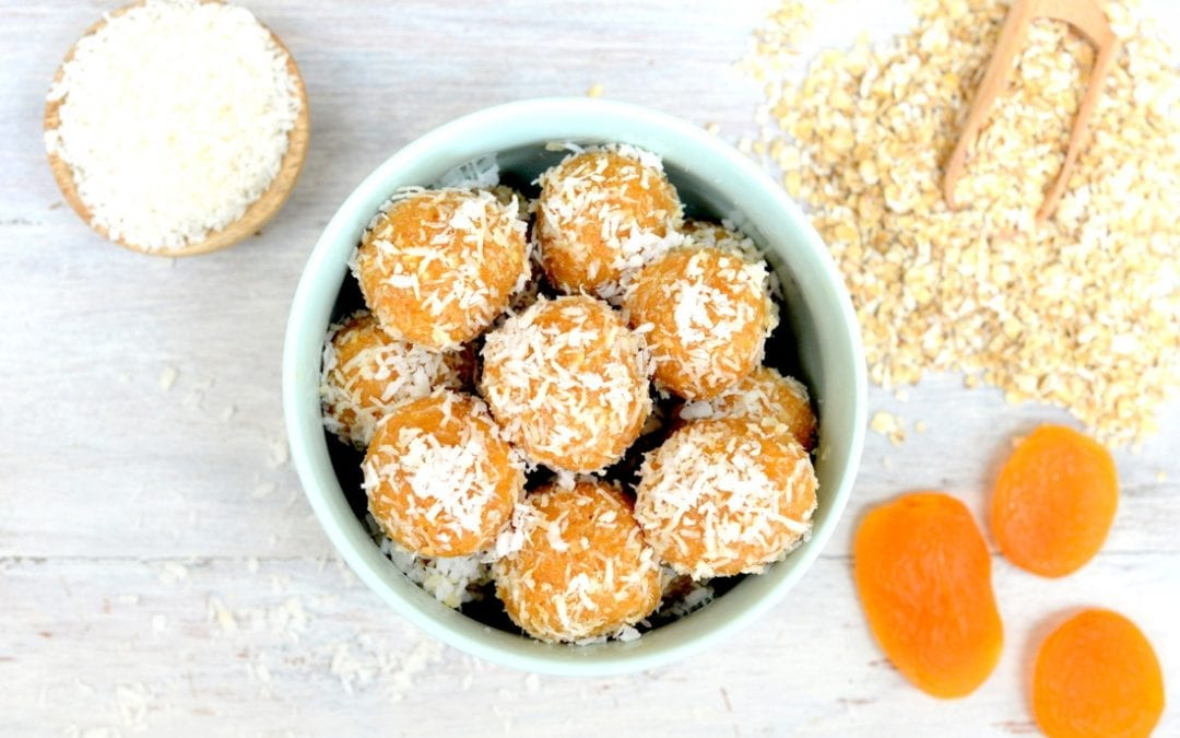 Apricot Coconut Balls recipe