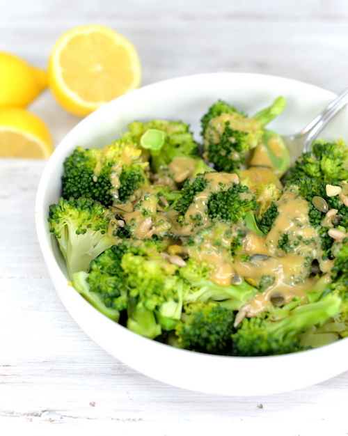 Broccoli-sweet-tahini-sauce-recipe