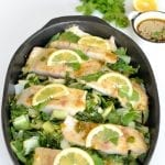 Red-snapper-bok-choy-asian-dressing-recipe