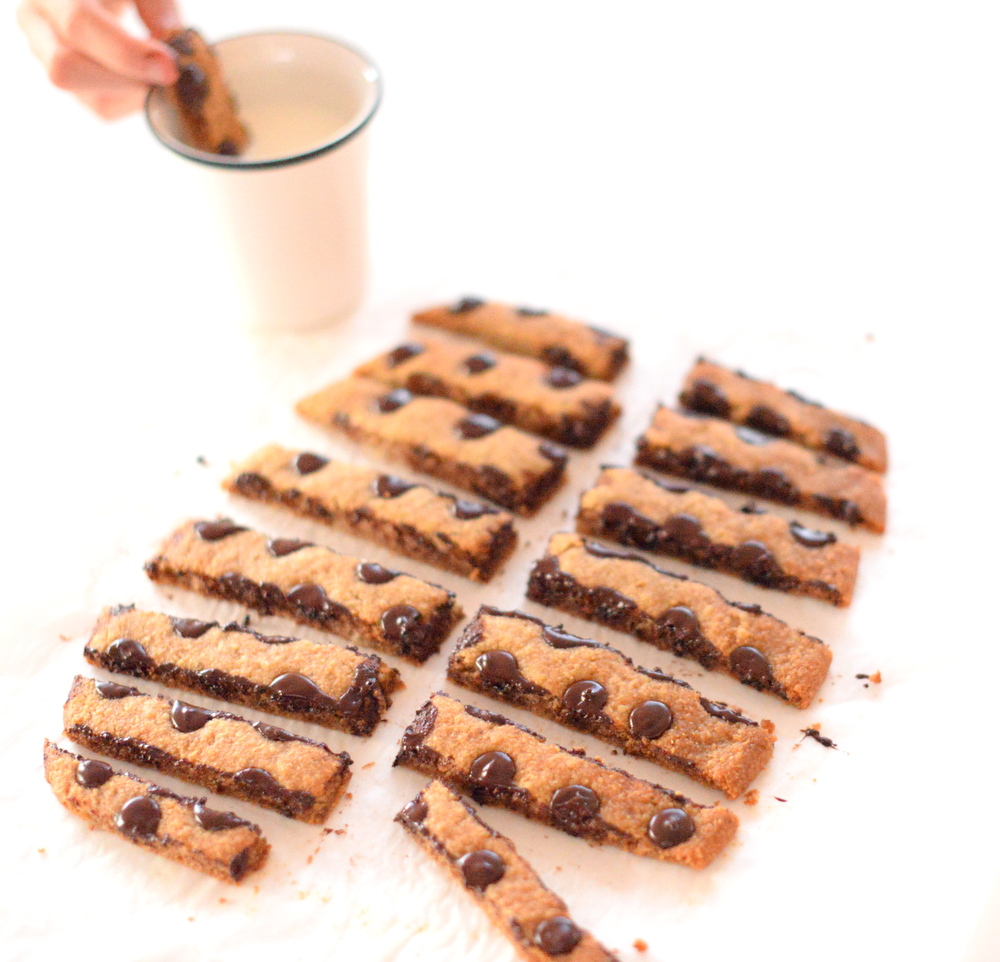 Gluten-free cookie sticks
