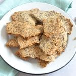 Gluten-free nut and seed crackers
