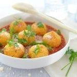 Vegetarian chickpea meatballs