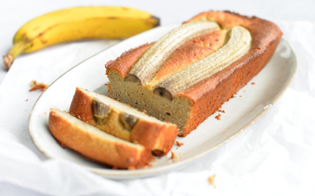Gluten-free almond banana bread